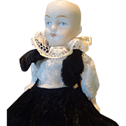 """All-Bisque German Jointed Limb Doll 5 1/4"""""""