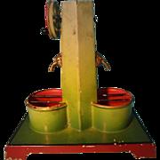 Toy Steam Pump with Gilt Lion Head Spouts