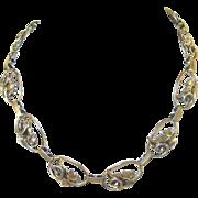 Jewel Art Sterling Necklace