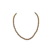 Vintage Necklace Sterling & Vermeil Beads