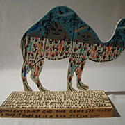 The Desert Taxi (Camel) by legendary Howard Finster