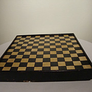 Game board with drawers; black and yellow.