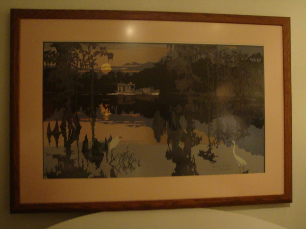 Cypress Swamp – Serigraph by Ron Picou