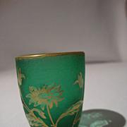 Daum Nancy Cabinet Vase - Toothpick.  CIRCA: 1900
