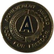 WWII Achievement Award – Food for Freedom Pin