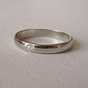 14k Yellow Gold Diamond Heart Engagement Ring