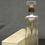 Vallant Perfume Cologne Bottle in Box  - Zanis Scent - 1920s