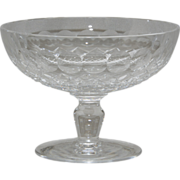 "Waterford Crystal ""Colleen"" Pattern Compote"