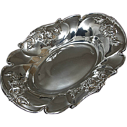 Beautiful Quadruple Plate Art Nouveau Bread Tray by Forbes Silver Co.