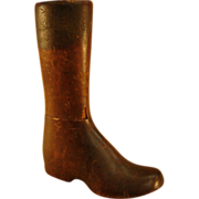 19th C. Child's Wooden Boot Last