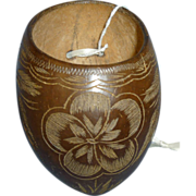 Carved Coconut