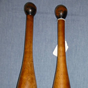 Small pair of indian clubs