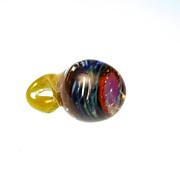 Art Glass multi colored Pendant
