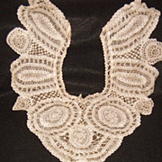 Old Victorian Princess Lace Dress Inset