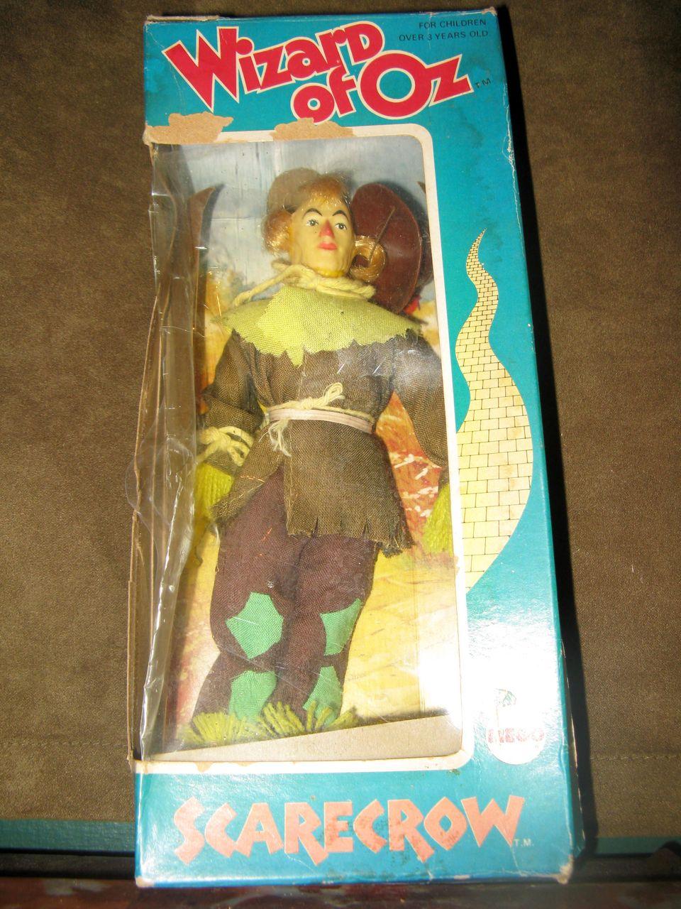 1974 MEGO Scarecrow 8 Inch Wizard of Oz Doll