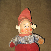 Horsman Disney Dopey Seven Dwarfs Doll Painted Face