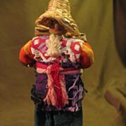 """Vintage Guatemalan Souvenir Doll 5 1/2"""""""