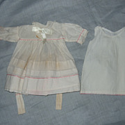 Dress and Slip from Antique Fabric