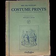 Vintage Costume Prints By Phyllis F. Lucas