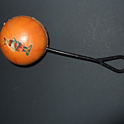 Antique Victorian Baby Rattle