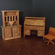 Vintage Wood Office Furniture