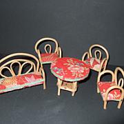 Miniature Rattan Japan Furniture