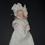 Miniature all bisque Baby Doll