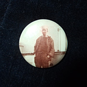 Pin Backed Portrait of a Sailor