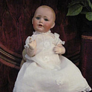 ADORABLE Antique Kestner Baby Jean German Bisque Character Baby Doll Dome Head