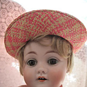 Darling Antique Kestner 143 Bisque Head Character Doll