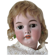 Sweet Simon Halbig German Bisque Head Antique Doll