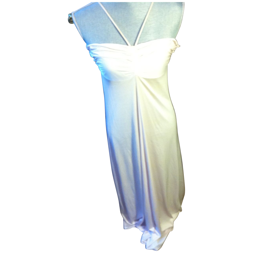 Vintage Claire Sandra by Lucie Ann of Beverly Hills Harlow Gown