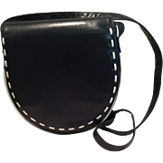Vintage Bruno Magli Cross Body Purse made of Softest Leather
