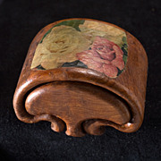 "Vintage 1960's-1970's Redwood Burl ""Mushroom"" Jewelry/Stash Box"