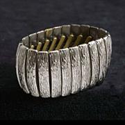 Vintage 1950's - 60's Modernist Cuff Bracelet