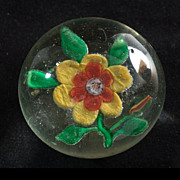 Vintage Chinese Daffodil Paperweight