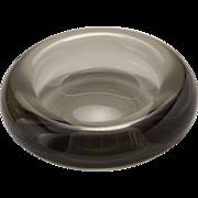 Vintage Holmegaard Art Glass Bowl by Per Lutken 1958