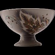 Sasha Brastoff Mid Century Pedestal Bowl