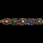 Fabulous 1960's Victorian Revival Bracelet