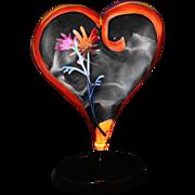 """Simon Bull Limited Edition """"Amor"""" Acrylic Art"""