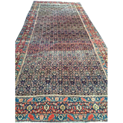 SALE Antique Persian SENNAH Oriental Rug, Overall Design with beautiful border ca. 1880,  6'4 ...