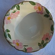 """9"""" Franciscan Gladding Mc Bean Desert Rose Vegetable Bowl USA"""