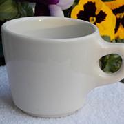 1963 New York City Buffalo China Property Coffee Mug Cup