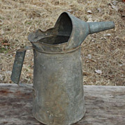 Vintage 1 Gallon NYC-PA Metal Oil or Water Can