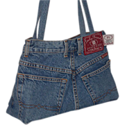 Vintage Lucky Brand Classic Fit Button Fly Women's Jean Purse