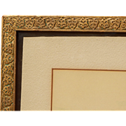 Fabulous Early 20th Century Leaf and Gold Gilt Picture Frame