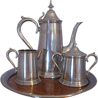 Stieff Pewter Coffee Service Set