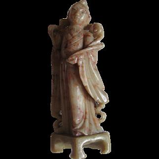 Soapstone Carved Immortal Figurine