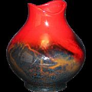 Royal Doulton Flambe Vase