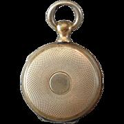 Sweet Miniature Victorian Pocket Watch Style Locket